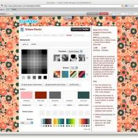 DYI Designer Twitter Background with Themeleon