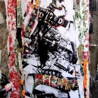 Cross-Cultural Collage Graffiti by Lili Jenks and 10H23
