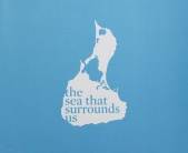 book cover, the sea that surrounds us by Maureen Drennan