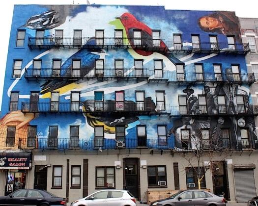 Gaia-street-art-audubon-mural-project
